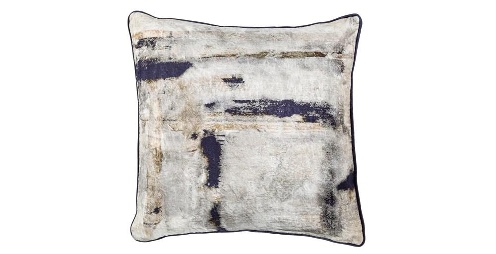 Lola Printed Velvet Cushion